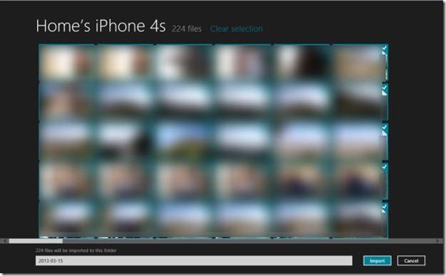 Importar fotos de iPhone a Windows Step3