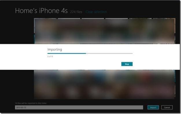 Importar fotos de iPhone a Windows Step8