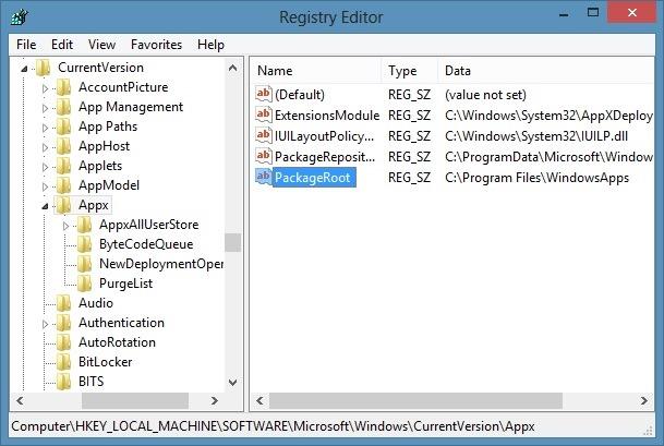 Install apps on SD card Windows 8 OS