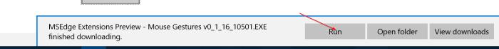 Instalar extensiones de borde en Windows 10 Paso 4.1