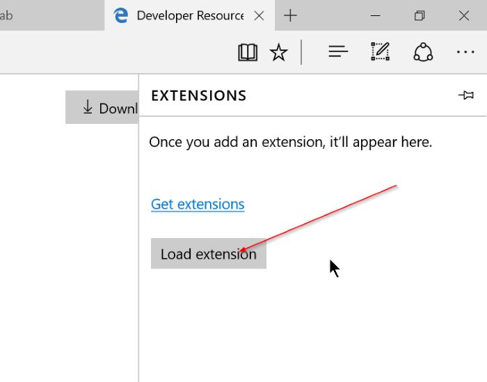 Instalar extensiones de borde en Windows 10 Paso 7