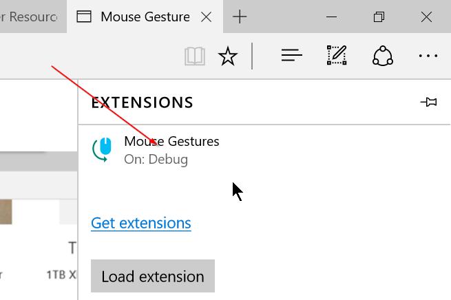 Instalar extensiones de borde en Windows 10 Paso 9