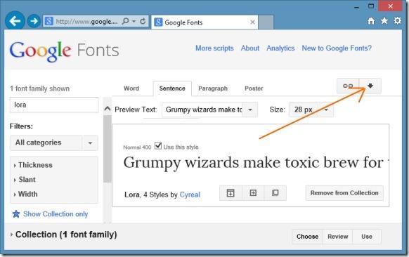Instalar fuentes web de Google en Windows Picture2