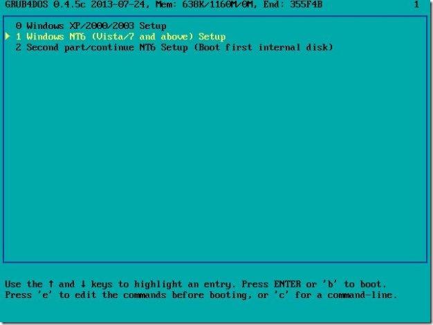 Instalar Windows 7 y Windows 8.1 desde la misma imagen USB13