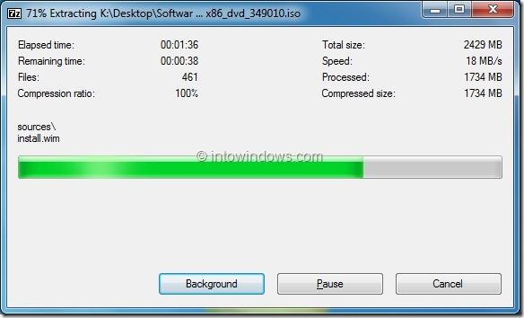 Instalar Windows 8 desde el disco duro externo Step4