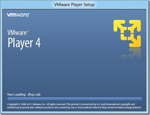 Install Windows 8 On VMware Player 4