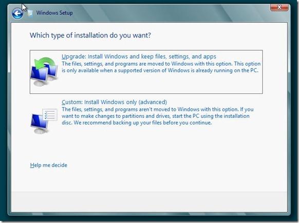 Install Windows 8 on VHD Step4