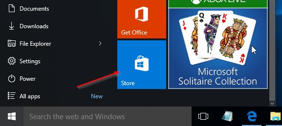 Instalar aplicaciones desde Store sin cuenta de Microsoft Windows 10 pic01