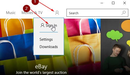 Instalar aplicaciones desde Store sin cuenta de Microsoft Windows 10 pic3