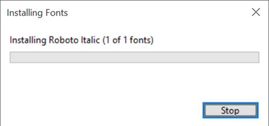 Instalar fuentes en Windows 10 pic5