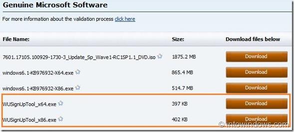 Instalar Windows 7 SP1 RC mediante Windows Update step1