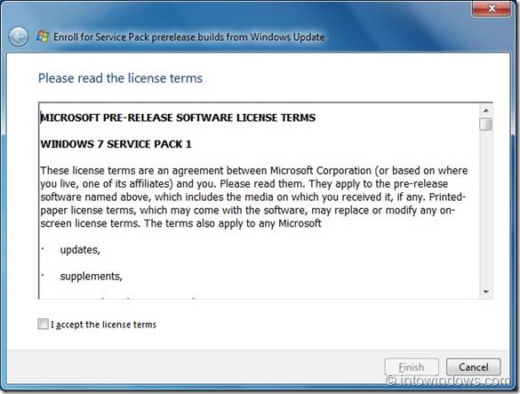 Instalar Windows 7 SP1 RC mediante Windows Update step2