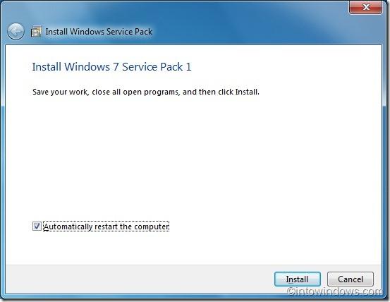 Instalar guía de Windows 7 sp12