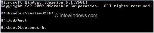 Instalación de Windows 8 desde el disco duro externo Paso 5