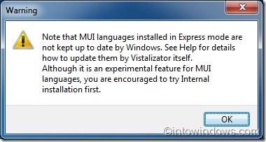 Instalación del paquete de idioma en Windows 7 Home Premium