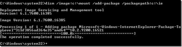 Integrar Internet Explorer 10 en Windows 7 Paso 16