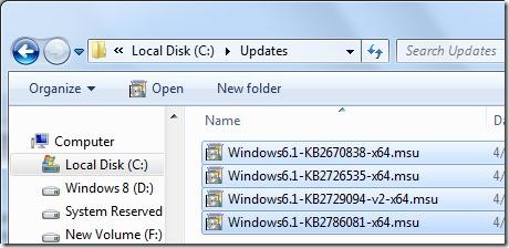 Integrar Internet Explorer 10 en Windows 7 Paso 2