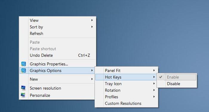 Atajo de teclado para rotar la orientación de la pantalla en Windows picture01