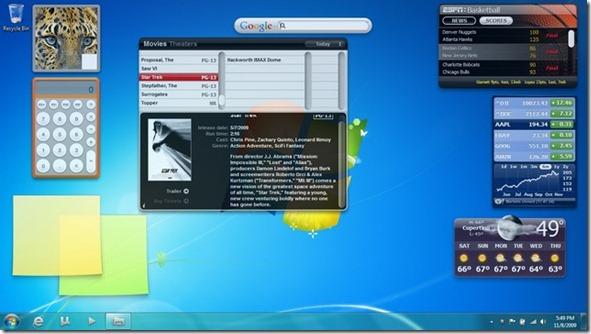 Mac OS X Widgets for Windows