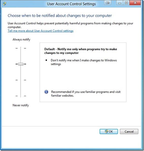 Metro Apps Not Working in Windows 8 Step1