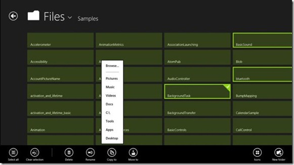 Metro UI Windows Explorer for Windows 8 Picture3