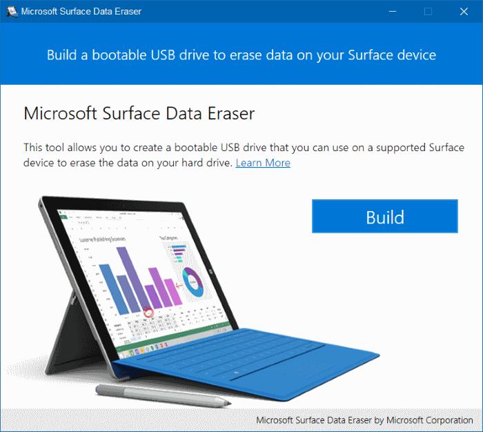 Microsoft Surface Data Eraser pic2