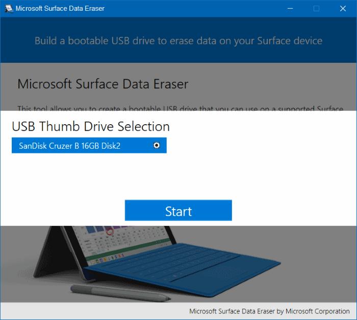 Microsoft Surface Data Eraser pic4