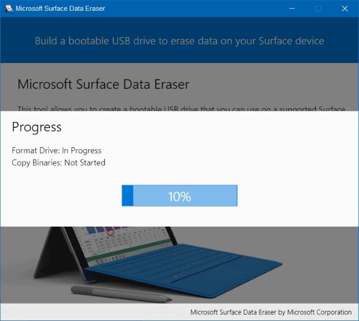 Microsoft Surface Data Eraser pic5