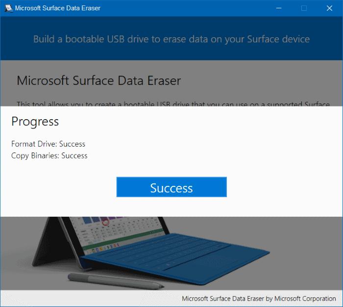 Microsoft Surface Data Eraser pic6