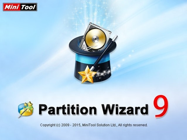 Minitool Partition Wizard 9 review and download picture