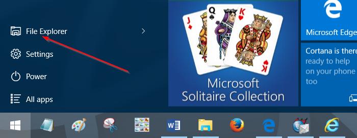 Mover descargas y carpetas de escritorio a otra unidad en Windows 10 step1