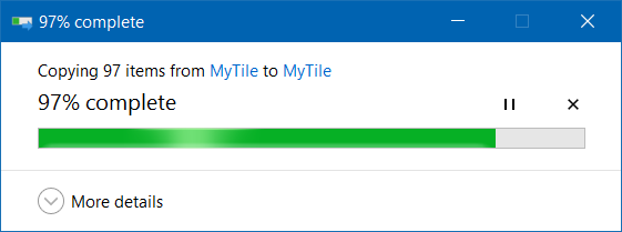 Mover descargas y carpetas de escritorio a otra unidad en Windows 10 step7