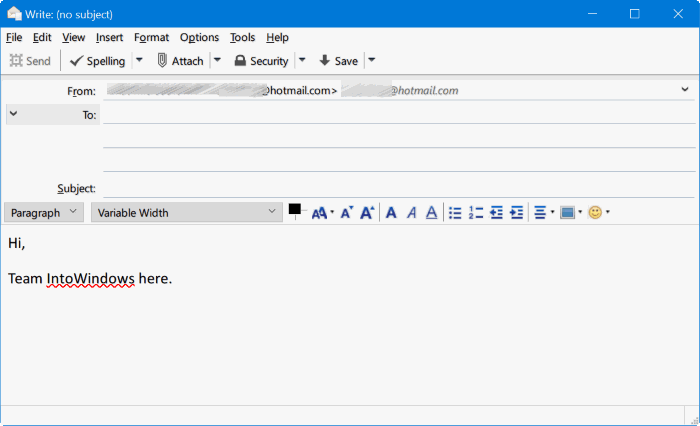 Mozilla Thunderbird para Windows 10 pic2