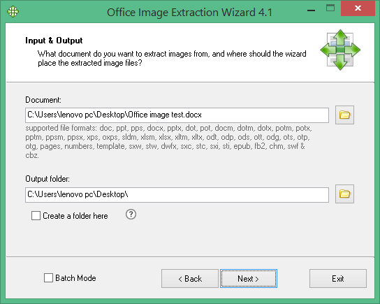 Office Image Extraction Wizard Free
