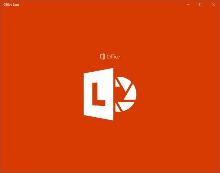 Lente de oficina es Camscanner para Windows 10