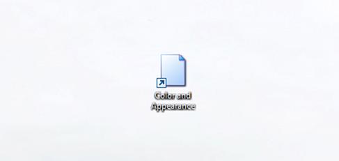 Abrir color y apariencia en Windows 10 step5