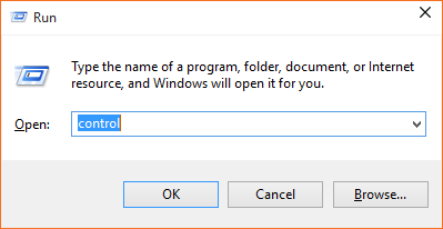 Abrir Panel de control Windows 10 step1