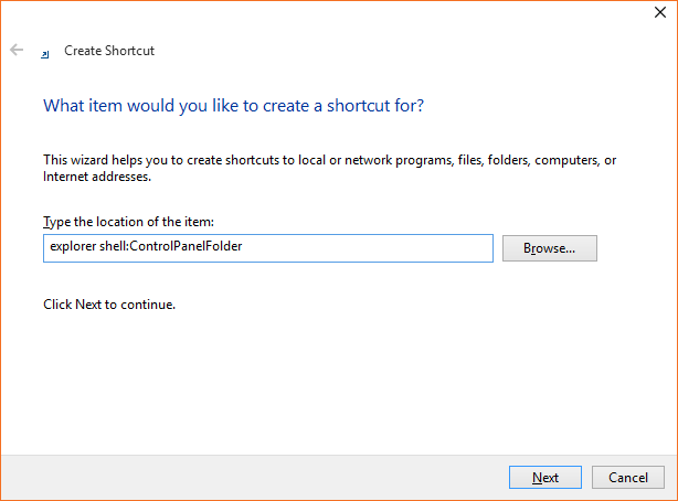 Abrir Panel de control Windows 10 step5