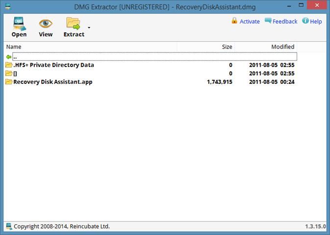 Open DMG Files In Windows