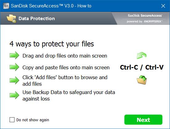 Proteger con contraseña la unidad USB SanDisk en Windows step8