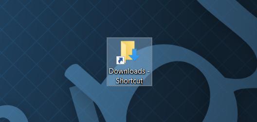 Pin Carpeta de descargas a la barra de tareas e iniciar pic2