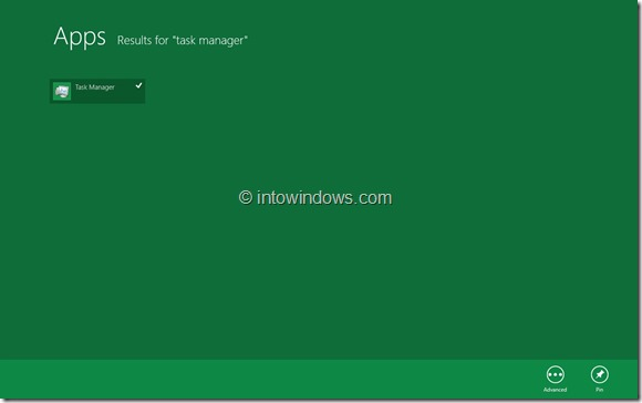 Pin Task Manager To Start Screen Step6