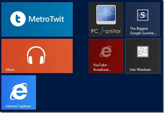 Pin Web Pages To Start Screen In Windows 8