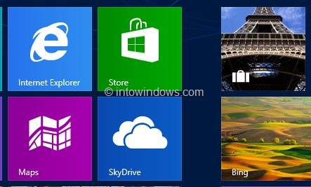 Purchase Apps From Store In Windows 8 Step1