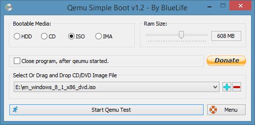 Qemu Simple Boot