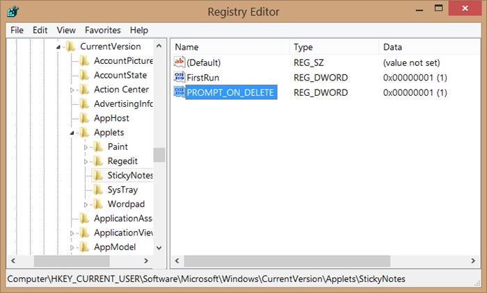 Recuperar notas adhesivas eliminadas en el paso 5 de Windows