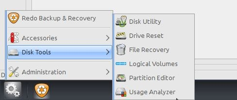 Rehacer la imagen de copia de seguridad y recuperación 2