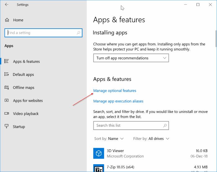Reducir el tamaño del almacenamiento reservado en Windows 10 pic1