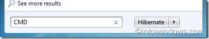Reducir el tamaño del archivo de hibernación en Windows 7
