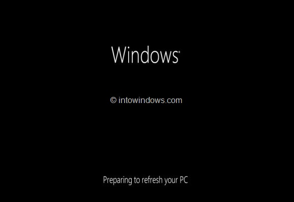 Refresh Windows 8 PC1